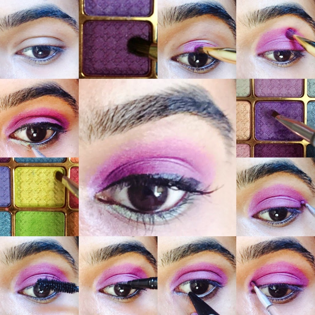The Fashion And Makeup Review Blog Easy Eye Makeup Tutorial With
