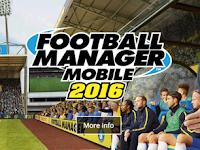 Football Manager Mobile 2016 v7.0.1 APK+DATA Terbaru Gratis