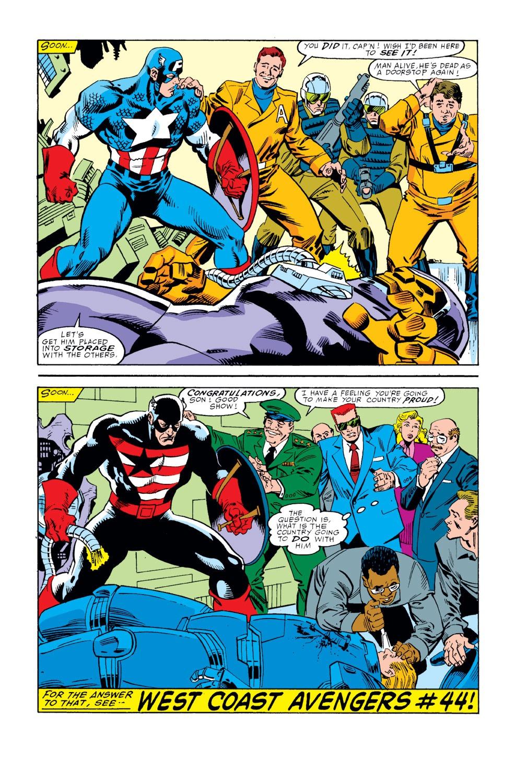 Captain America (1968) Issue #354 #286 - English 23