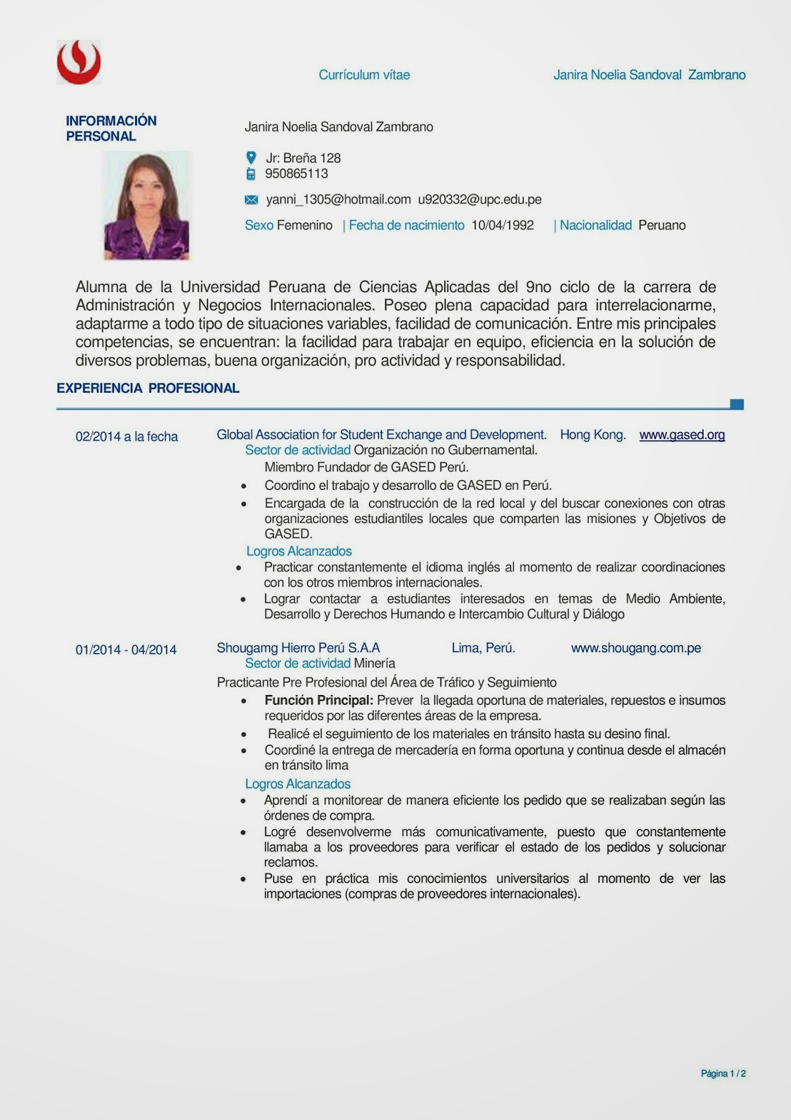 Bonito Verificar El Curriculum Vitae Ilustración - Ejemplo De ...