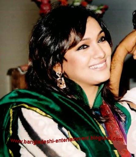 Bangladeshi model Afsana Ara Bindu