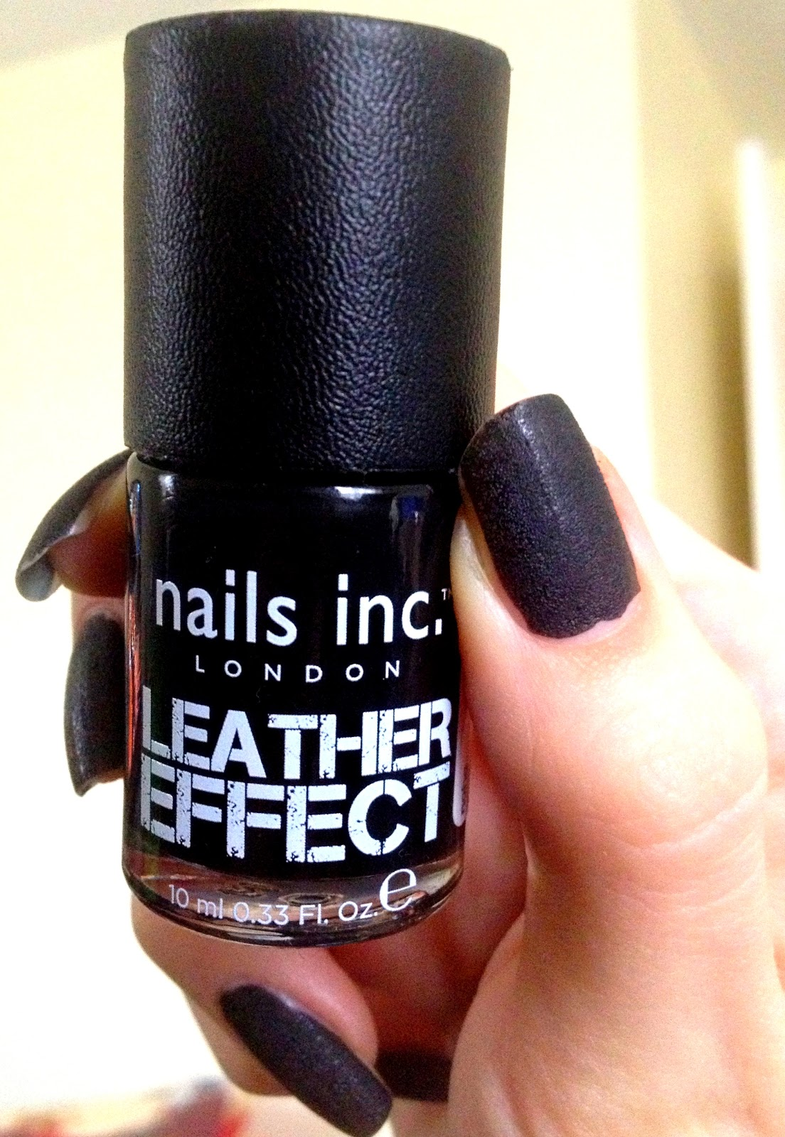 Photo -Jenn- ic: Nails Inc Leather Effect Review