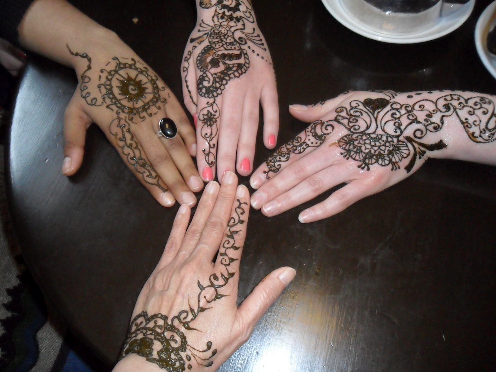 Fun With Henna Mehndi Friends Forever