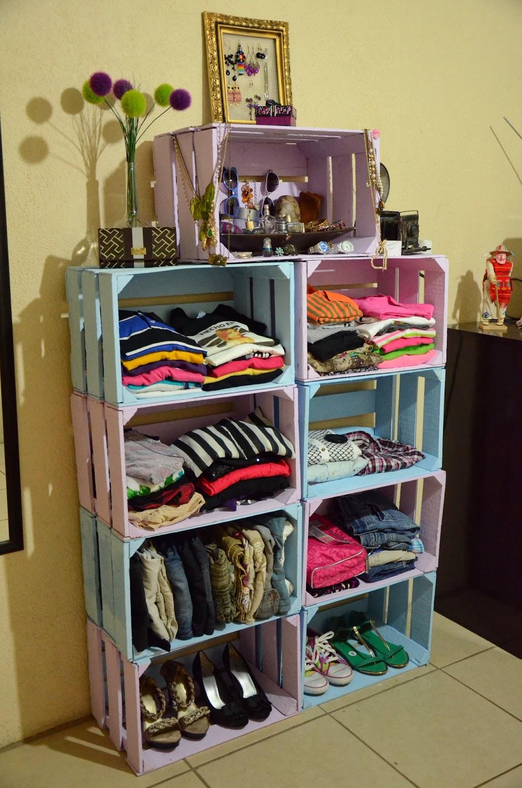 El blog de itzi proyecto d i y closet para tu habitaci n - Como hacer un closet en una habitacion ...