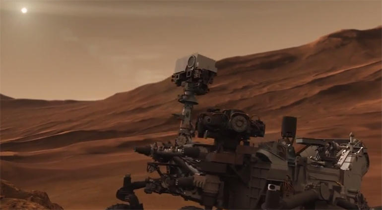 Curiosity has discovered organic matter on Mars