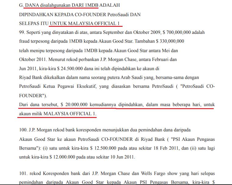Maklumat lengkap kecurian dana 1MDB terbukti masuk akaun Najib.!!