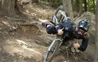 Gleba na rowerze z kamerą GoPro :)
