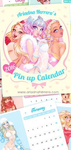 2016 PINUP CALENDAR ♥ Shop
