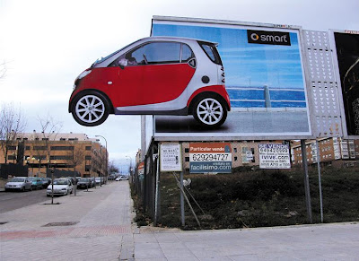 Clever and Creative Smart Car Advertisements  (15) 2