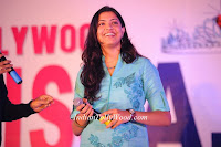singer geetha madhuri at tollywood miss ap 2012 photos in blue dress