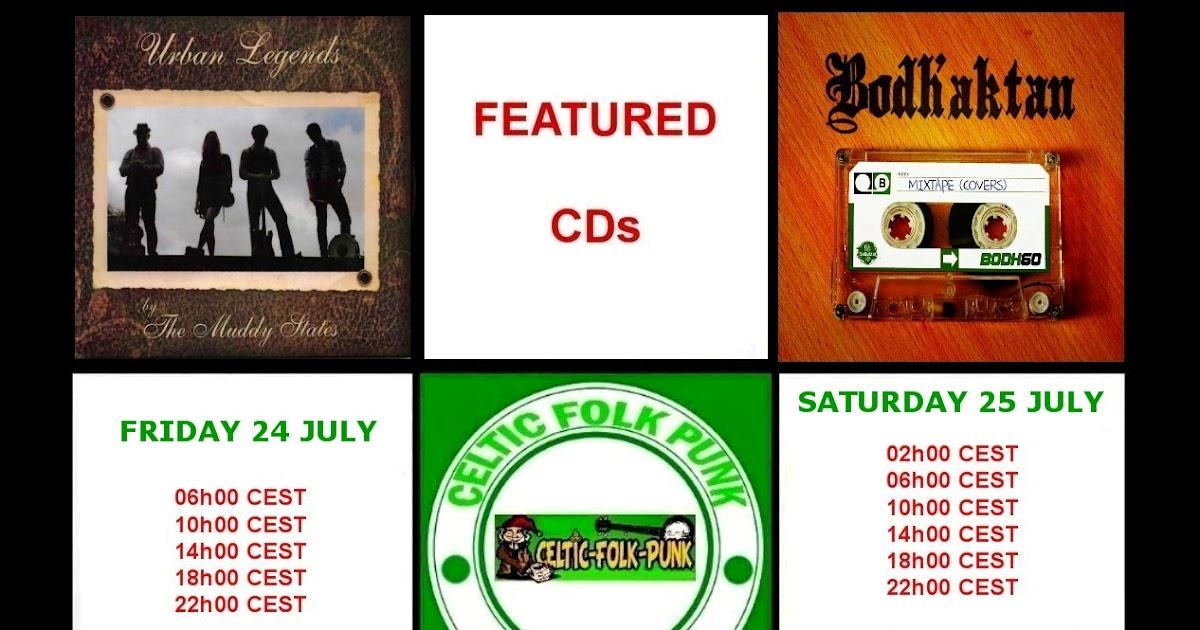 FEATURED CDs AT CELTIC-FOLK-PUNK RADIO (24-25 JULY 2015 ...