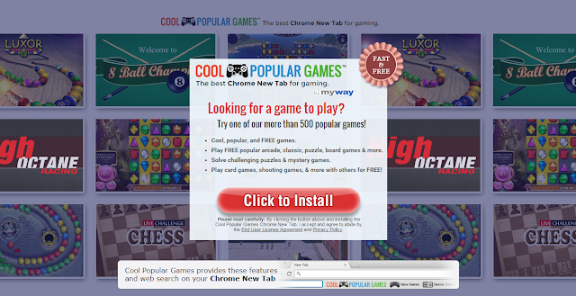 CoolPopularGames Toolbar