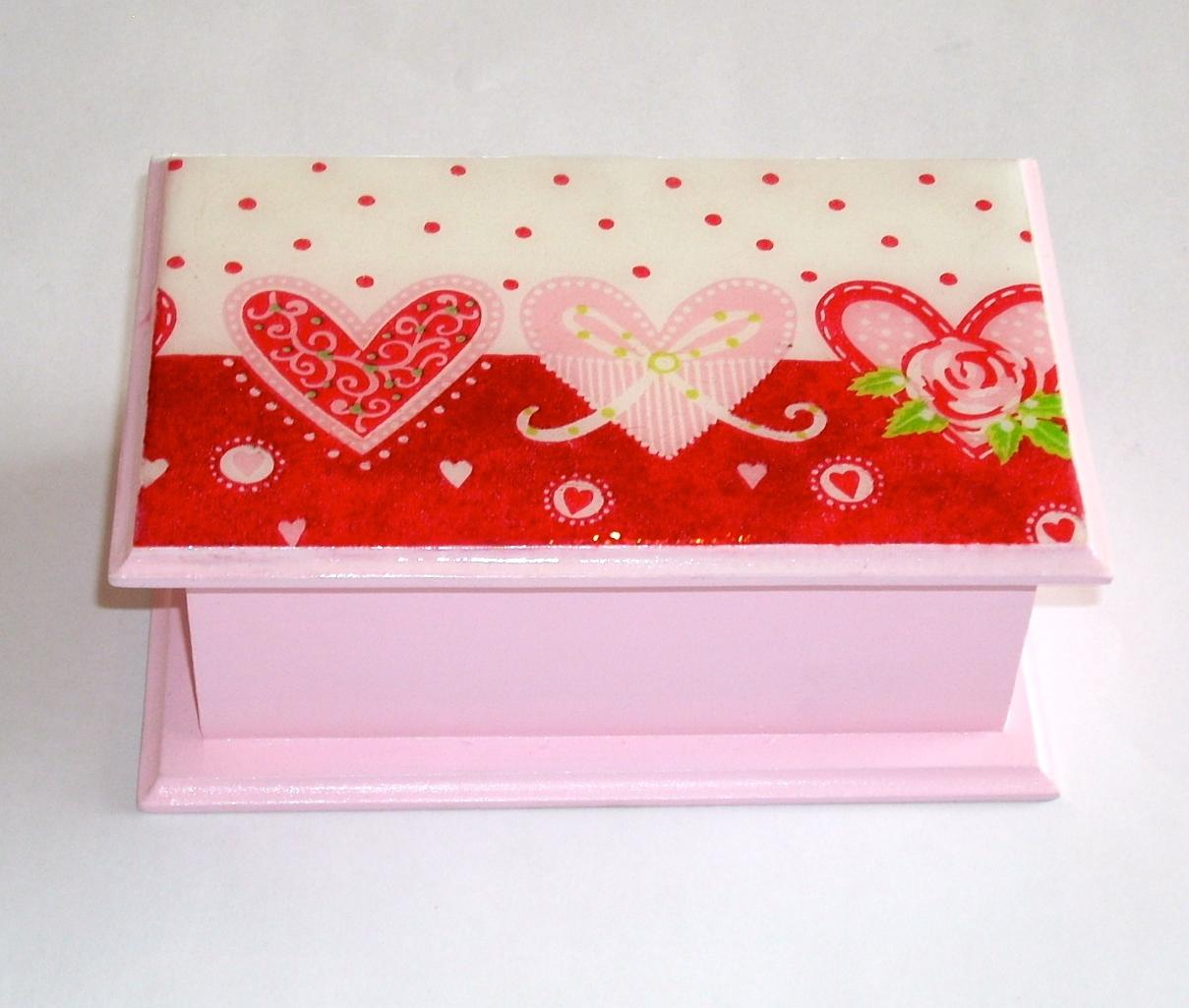 Cajas decoradas country designs for Cajas de carton pequenas decoradas