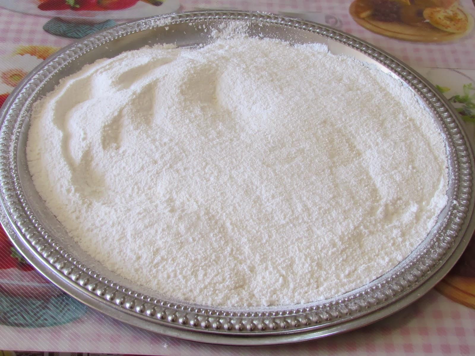 suggerimenti:decorare con lo zucchero a velo