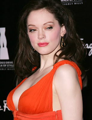 Rose McGowan Hollywood Model Wallpaper