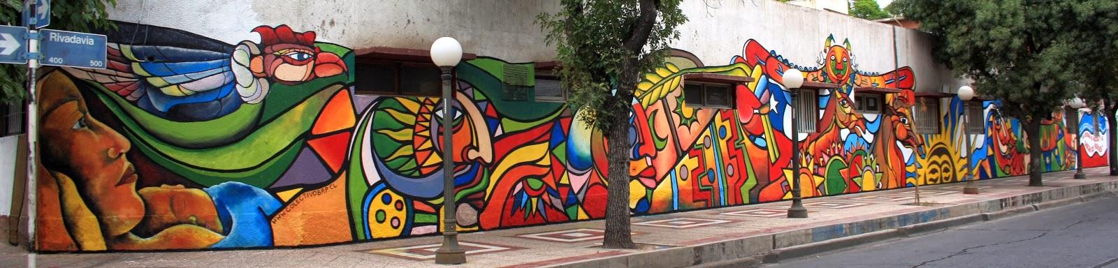 Murales del cono sur godoy cruz un epicentro del for Arte colectivo mural