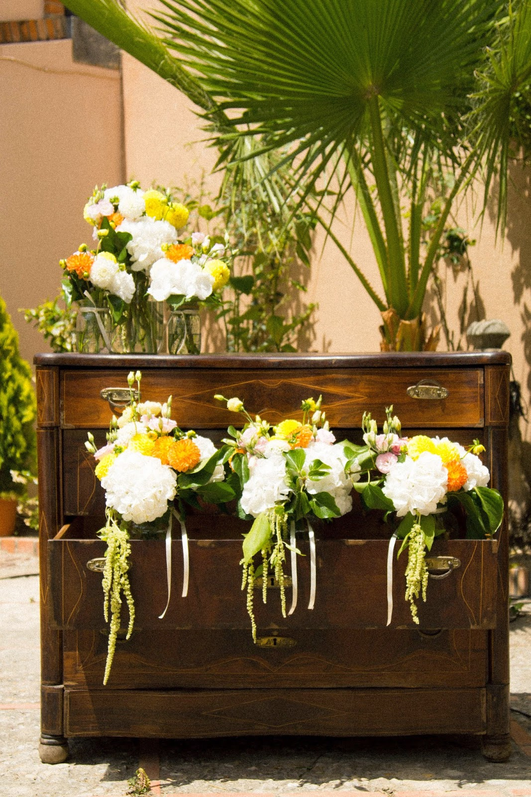 Mueble vintage bodas valencia