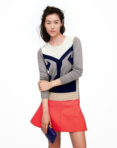 J.Crew stylish print jumper