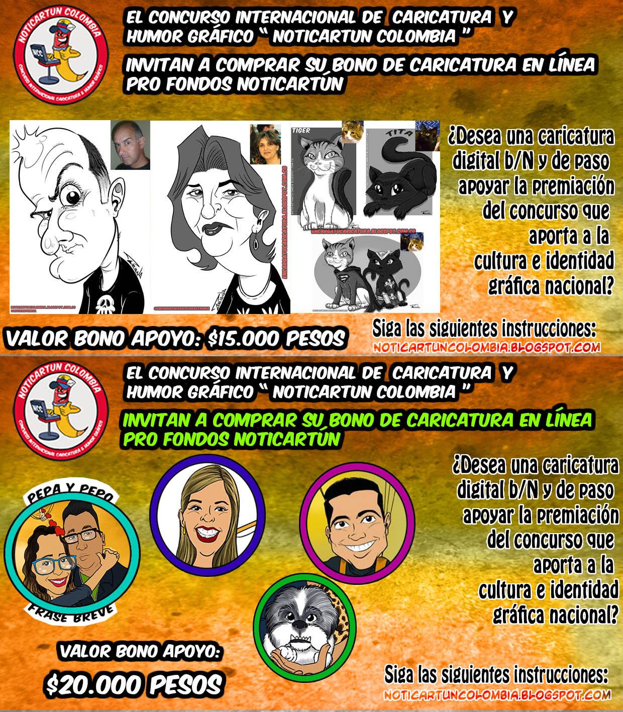EN RECESOjornada de caricatura en línea pro fondos Noticias de Cartoon Colombia 2019