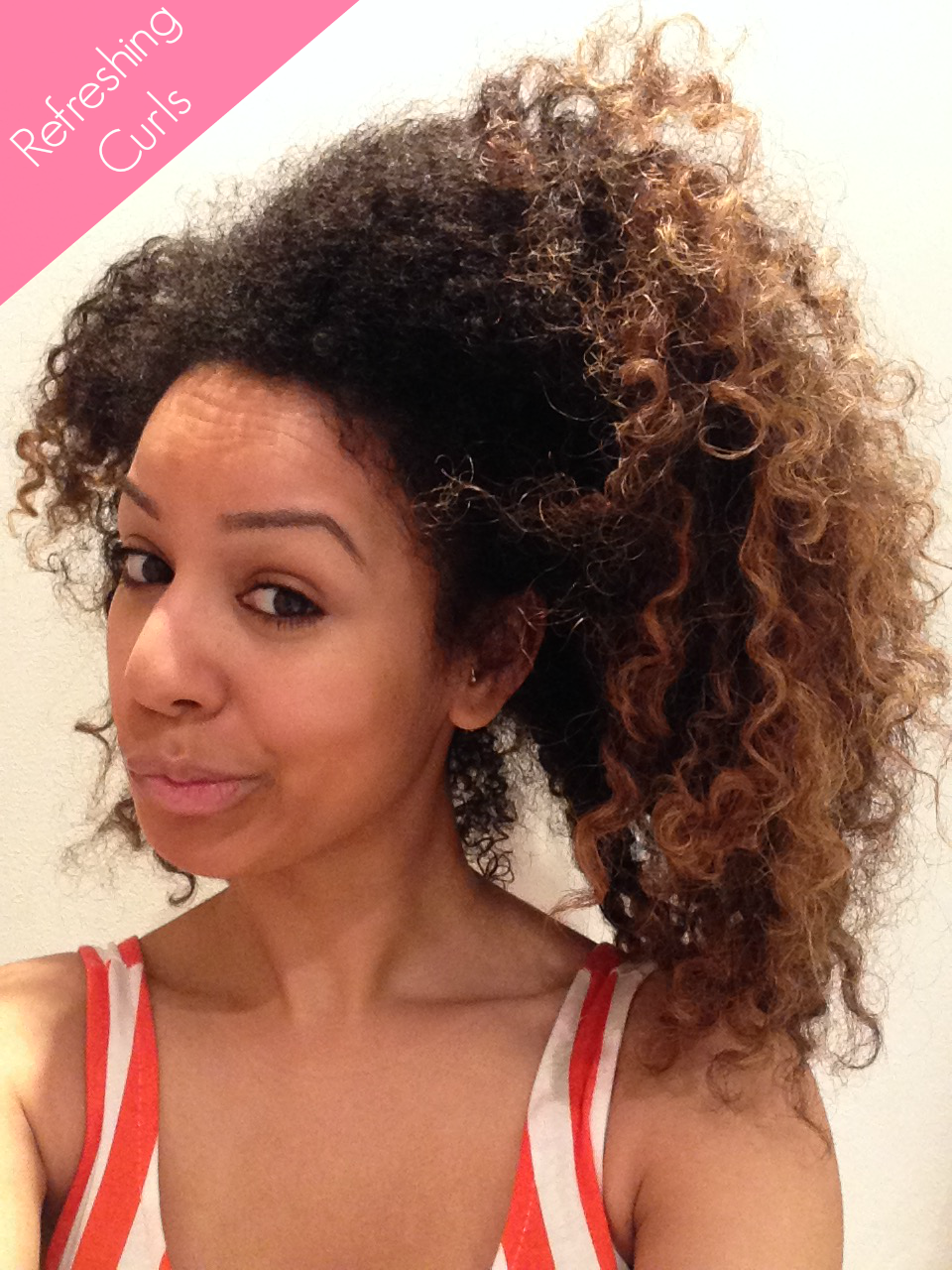How I Refresh My Dry Curly Hair Uk Curly Girl