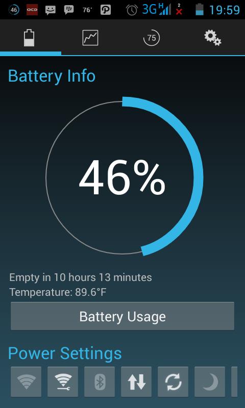 Battery Widget Reborn Pro - Manajemen Untuk Menghemat Baterai Android 3