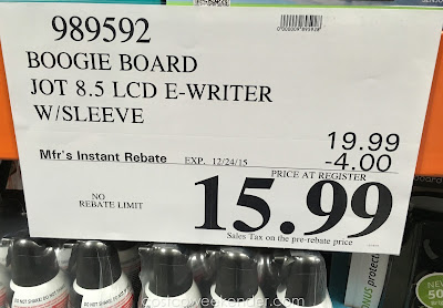 Deal for the Boogie Board Jot 8.5 eWriter at Costco