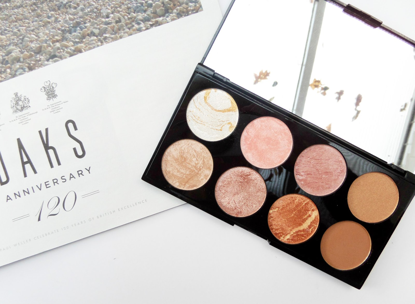 The Makeup Revolution Ultra Blush and Contour Palette in Golden Sugar Review