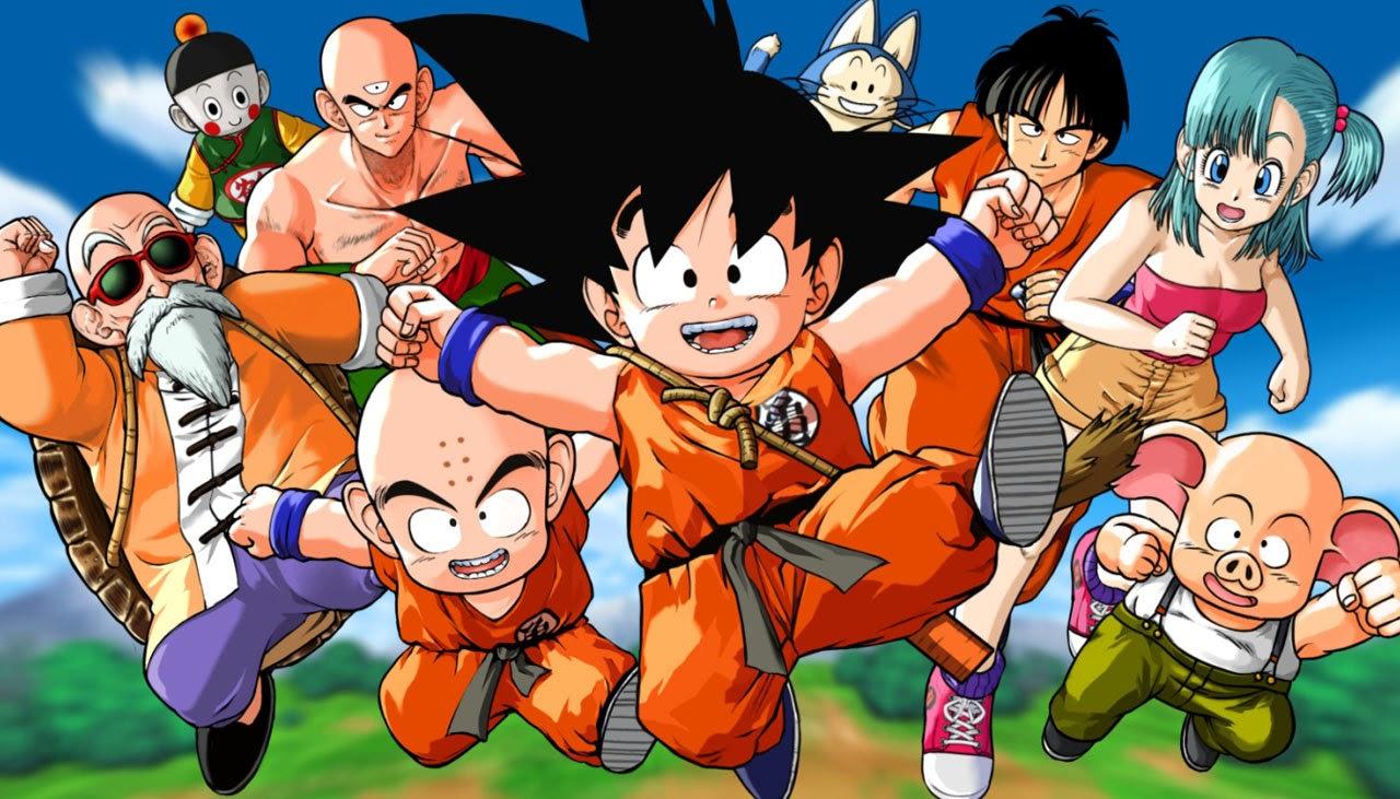 Son Goku, Krilin, Chichi, Picoro, Vexeta, Bulma