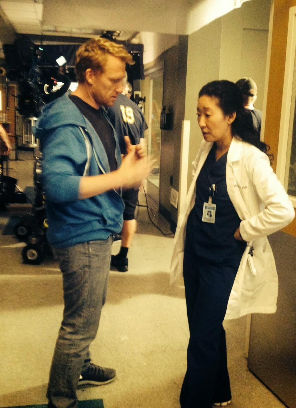 Sandra Oh On  Good Morning America  - The InterviewKevin Mckidd And Sandra Oh