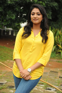 Actress Haripriya Latest Pictures in Jeans at EE Varsham Sakshiga Telugu Movie Press Meet 0042