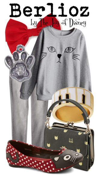 Aristocats, Berlioz Aristocats, Disney Fashion