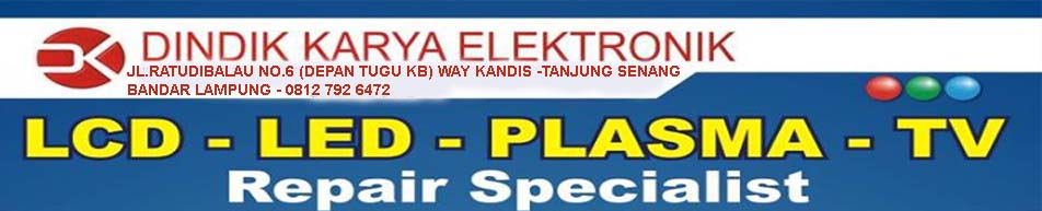 CLINIC TV LCD LED LAMPUNG