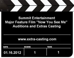 Now You See Me Auditions Extras Casting