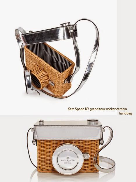 Kate Spade New York 'Grand Tour' Wicker Camera Shoulder Bag 89