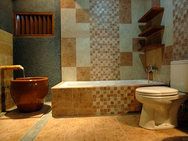 Kamar mandi minimalis batu alam 5
