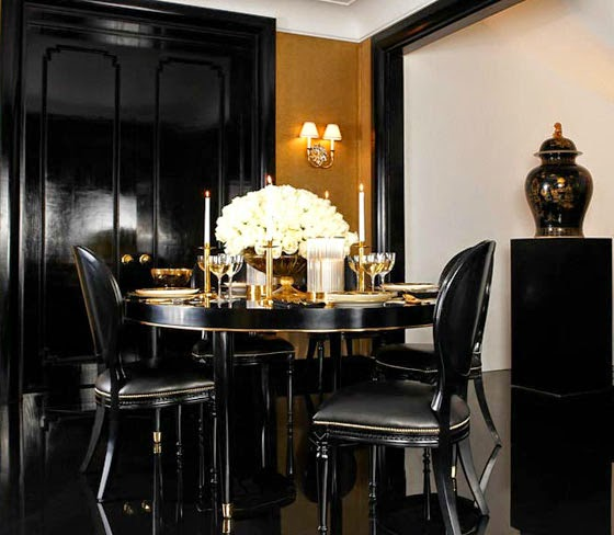 Gentil ... Black Foundation Offset With Shimmering Metallics U0026 Luxurious Textures  That Recapture Old Hollywood Allure. I Wrote MORE BLOGS About Ralph Lauren  Home.
