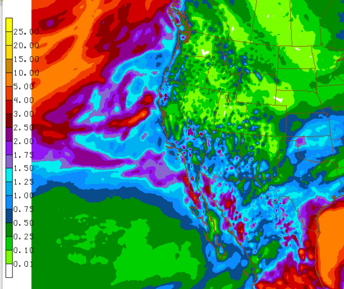 Cliff Mass Weather And Climate Blog El Nino A Weather Force Awakens - Us weather map ten day forecast