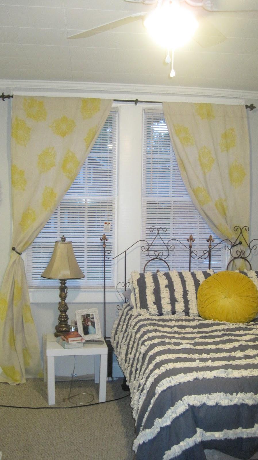 Paint Drop Cloth Curtains Nickles Dimes Spray Paint Drop Cloth Curtains