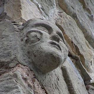 Mediaeval stonework at Borgo di Vagli hamlet