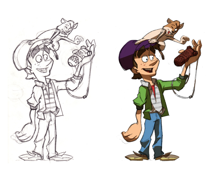 Tom Bancroft Character Design Book : Portfolio of ole christian løken character design