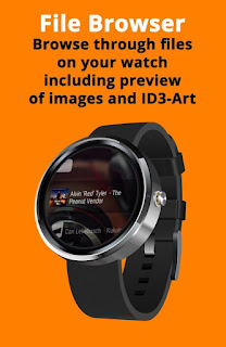 how to transfer music to android wear