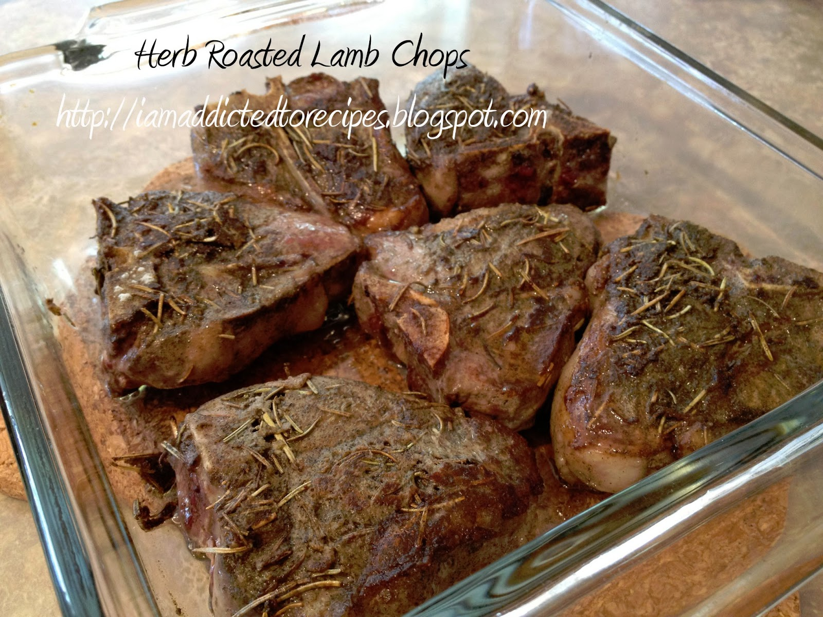 Herb-Roasted Lamb Chops Recipe — Dishmaps