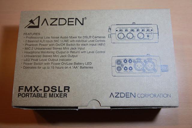 AZDEN FMX-DSLR