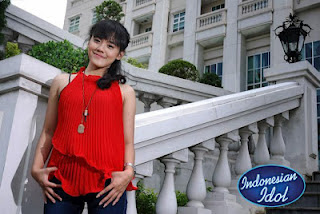 Maria Rosalia Indonesian Idol 2012