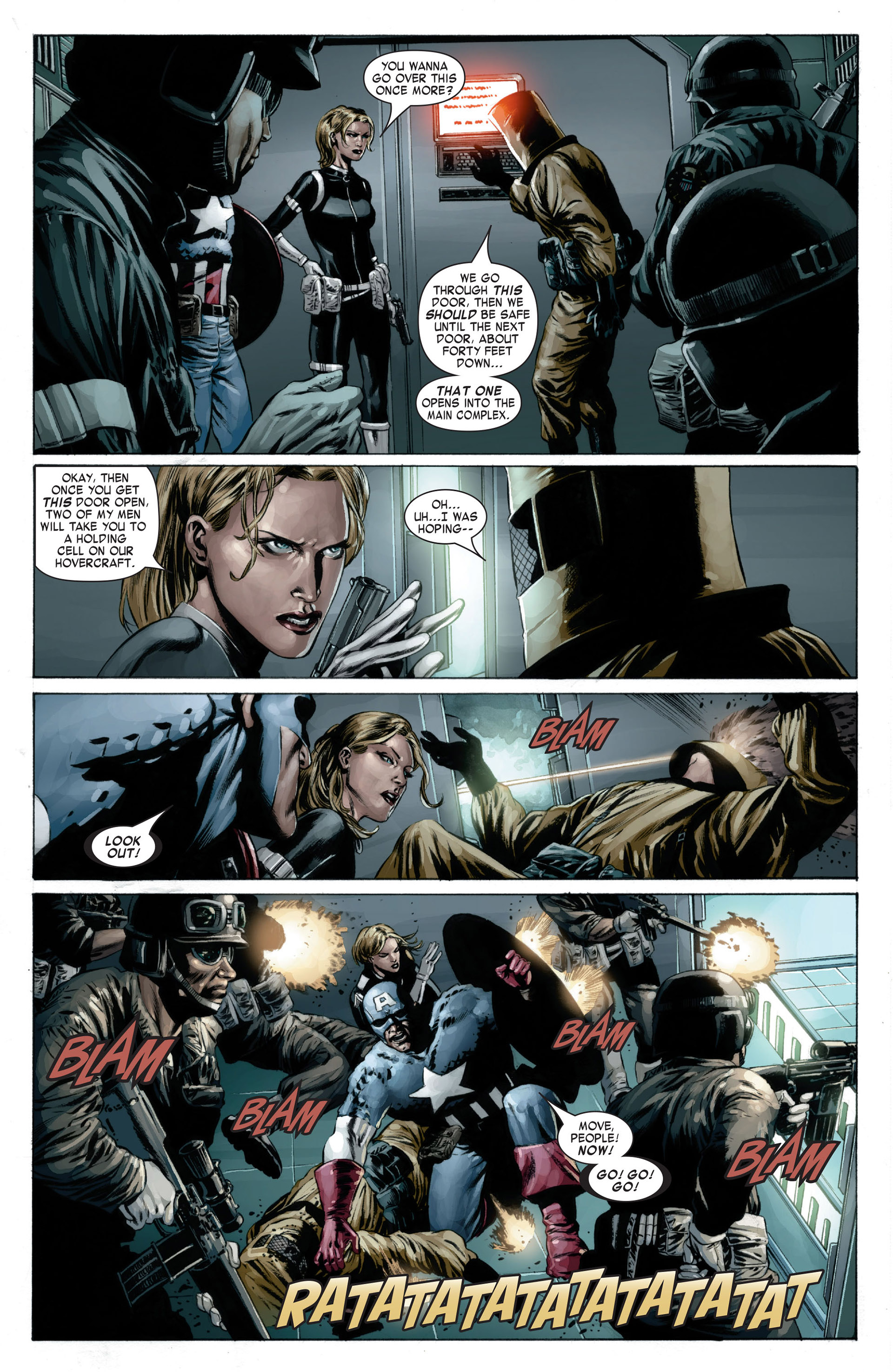 Captain America (2005) Issue #17 #17 - English 9