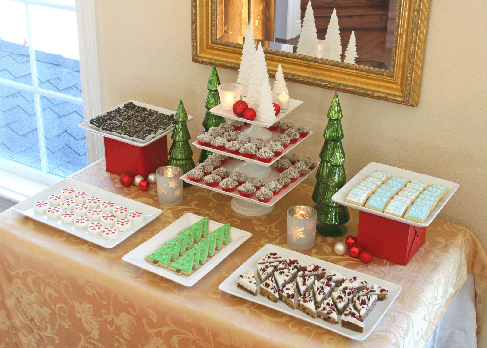 Christmas buffet table decoration ideas - Christmas Dessert Buffet Ideas Memes