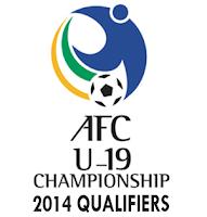 Klasemen Dan Jadwal Kualifikasi AFC Cup U-19 2014