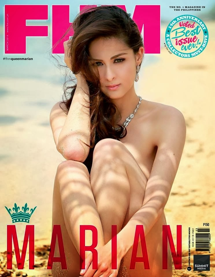Marian Rivera Covers FHM March 2014 Issue