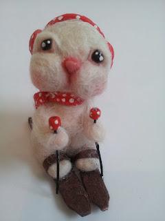 rabbit coniglio ooak miniature miniatur piggy