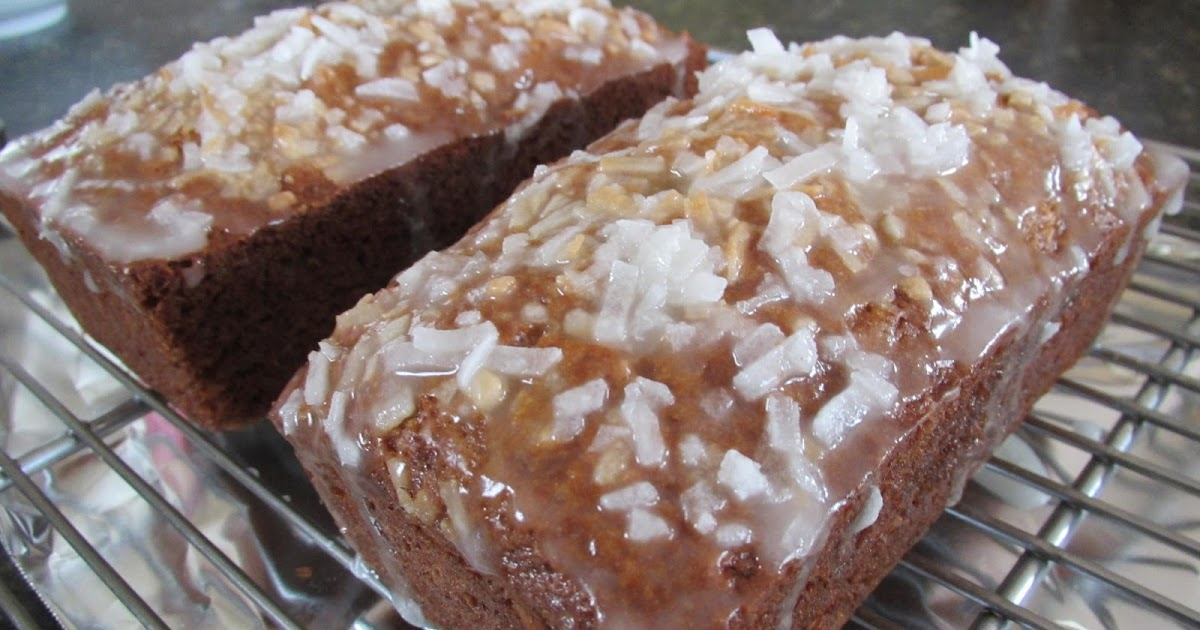 Successfully Gluten Free! : Coconut Banana Bread w/ Lemon ...
